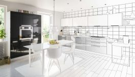 Super Design of Kitchen cabinets