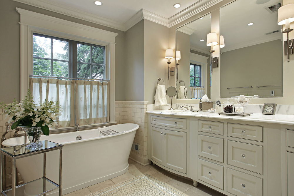 Custom Cabinets for bathroom